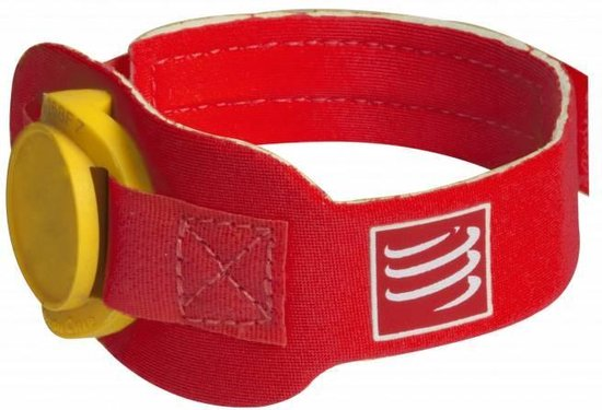 Compressport Timing Chip Strap - RED - Uniq Size