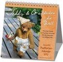 Teddy & Co entdecken die Welt 2021. Postkarten-Kalender