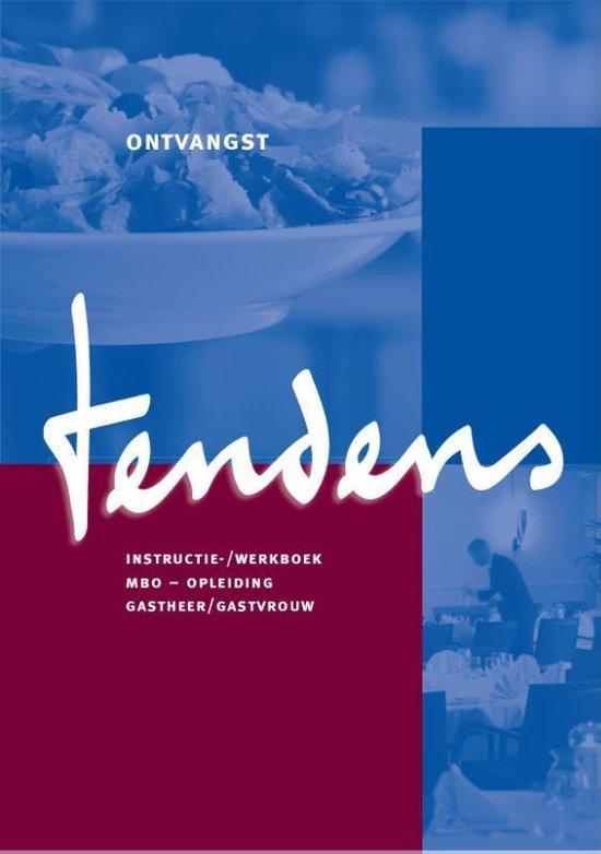 Tendens Mbo opleiding gastheer/gastvrouw Instructie-/werkboek - Hans Veelers   Fthsonline.com