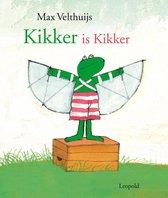 Boek cover Kikker is kikker van Max Velthuijs