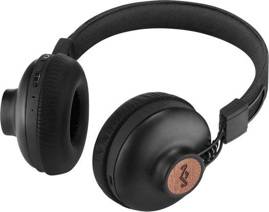 House of Marley Positive Vibration 2 Bluetooth koptelefoon - zwart