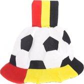 Voetbalhoed & vlag BEL PE