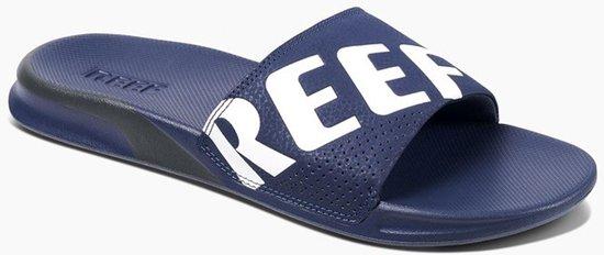 bol.com | Reef Slippers - Maat 43 - Mannen - blauw/wit