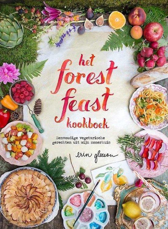 Boek cover Het forest feast kookboek van Erin Gleeson (Hardcover)