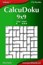 Calcudoku 9x9 - Easy to Hard - Volume 7 - 276 Puzzles