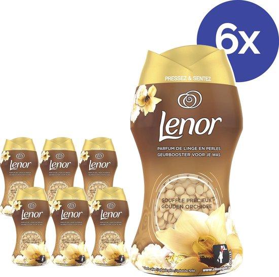 Lenor Geurbooster Gouden Orchidee - Voordeelverpakking 6 x 140g - Wasmiddel Parfum