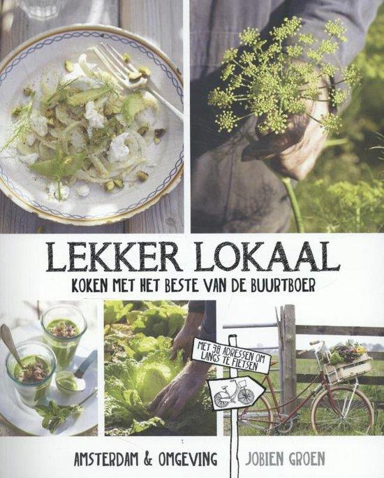 Boek cover Lekker lokaal van Jobien Groen