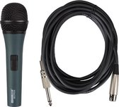 Zwarte Professionele Dynamische Microfoon Met Draagkoffer