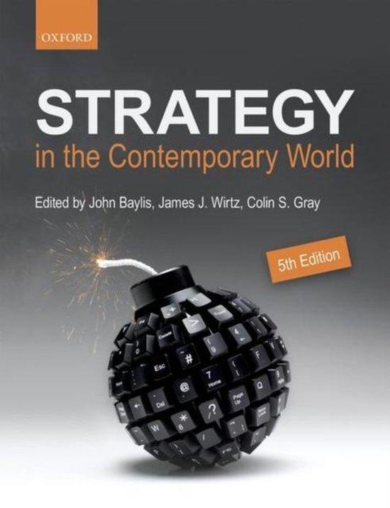 Boek cover Strategy in the Contemporary World van Baylis, John Wirtz (Paperback)