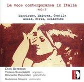La Voce Contemporanea In Italia - Vol.2 (Songs By