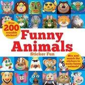 Funny Animals Sticker Fun