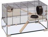 Ferplast Hamsterkooi Karat 80 - 78,5 x 45,5 x 52,5 cm - Bruin