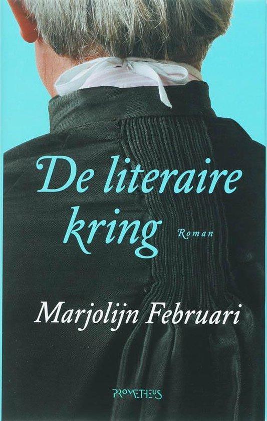 Cover van het boek 'De literaire kring' van M. Februari