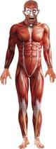 Halloween - Anatomische man horror bodysuit 48-50 (M)