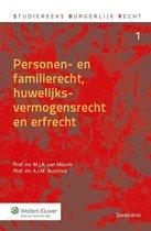 Studiereeks burgerlijk recht 1 - Personen- en familierecht, huwelijksvermogensrecht en erfrecht