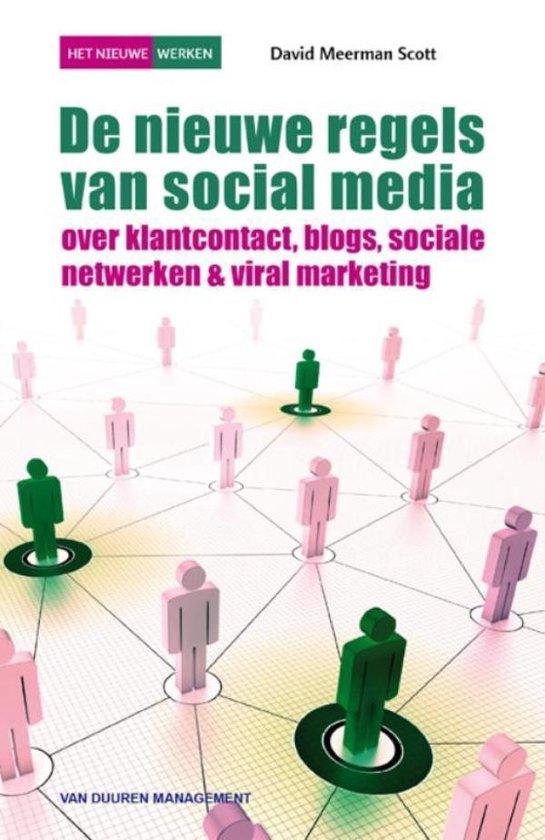 De Nieuwe Regels Van Social Media 3e Druk - David Meerman Scott |