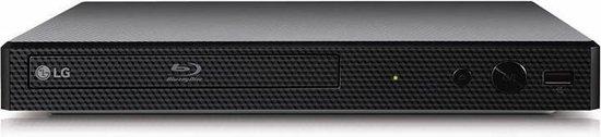 LG BP250 - Blu-ray DVD  speler  -Zwart