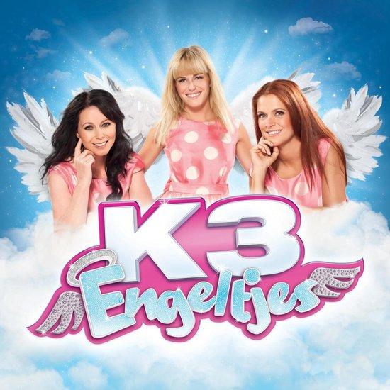 CD cover van K3 Engeltjes (Cd) van K3