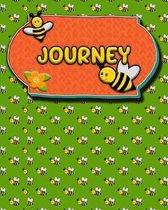 Handwriting Practice 120 Page Honey Bee Book Journey
