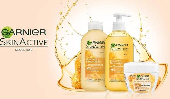 Garnier SkinActive Botanische Reinigingsgel met Bloemenhoning - 200 ml - Droge Huid