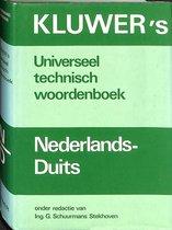 Kluwer's universeel technisch woordenboek Nederlands-Duits
