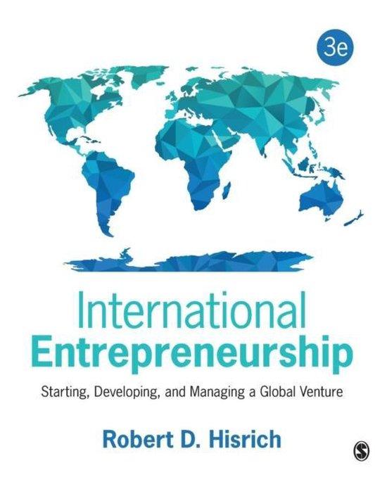 Afbeelding van International Entrepreneurship