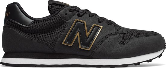 New Balance 500 Sneakers Dames - Black - Maat 36