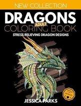 Dragons Adult Coloring Book