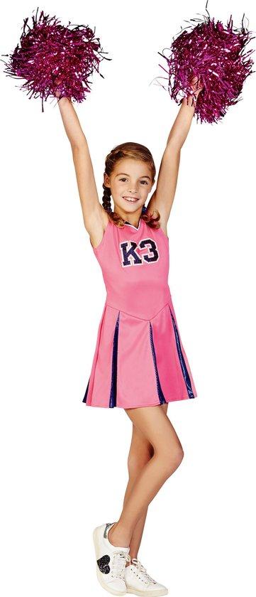 K3 : verkleedjurk cheerleader maat 152