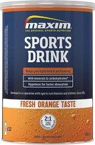 2x Maxim Sport Drink fresh Orange 480g