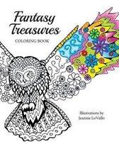 Fantasy Treasures Coloring Book