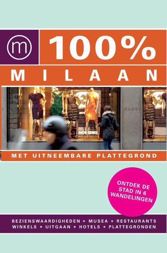 Cover van het boek '100% Milaan' van A. Hofstra