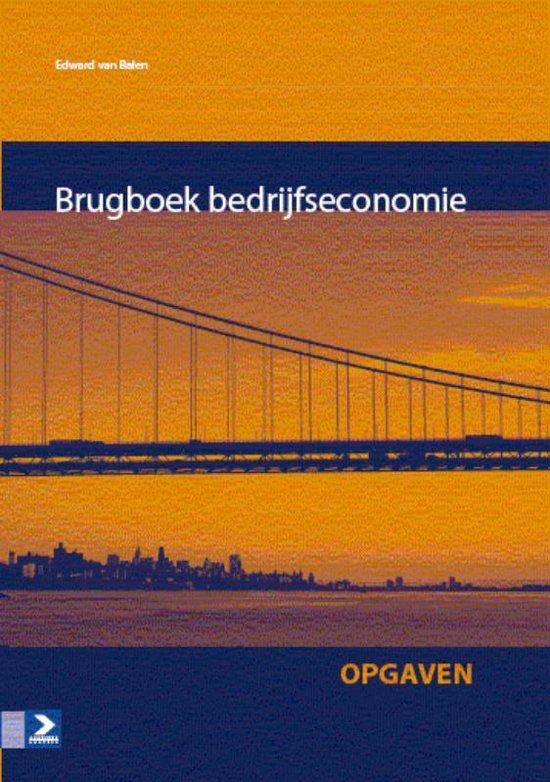 Omslag van Brugboek bedrijfseconomie Opgaven