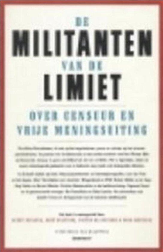 Militanten van de limiet. Censuur - Marc Buelens | Fthsonline.com