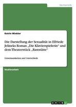 Die Darstellung der Sexualitat in Elfriede Jelineks Roman Die Klavierspielerin und dem Theaterstuck Raststatte