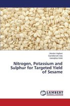 Nitrogen, Potassium and Sulphur for Targeted Yield of Sesame