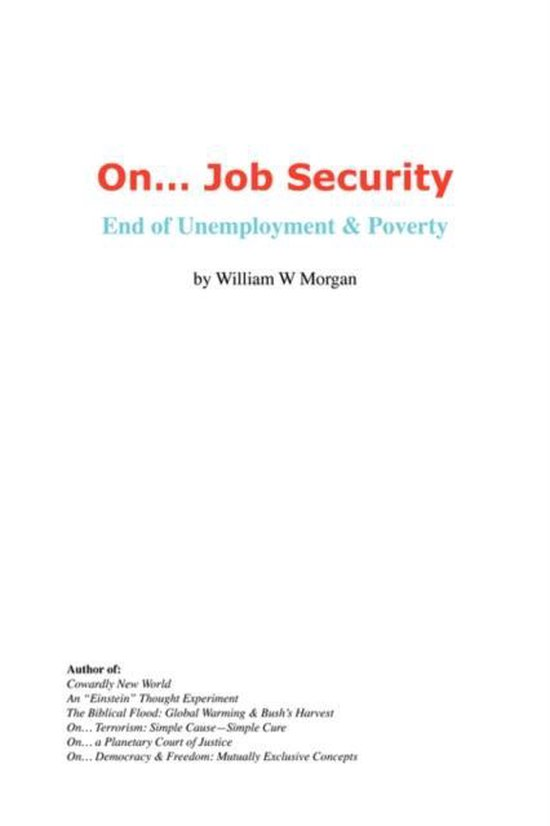 On. Job Security