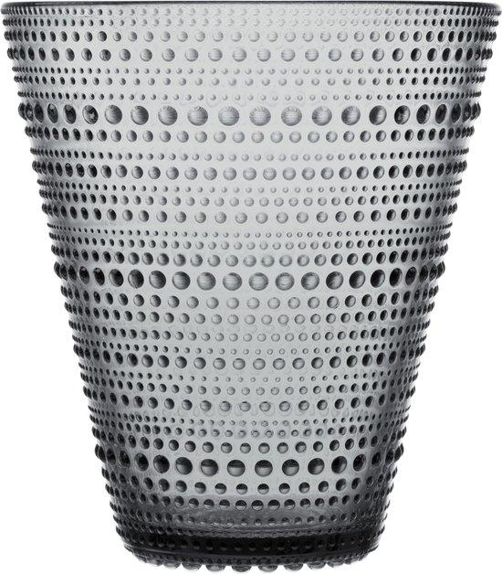 Iittala Kastehelmi Vaas - 154 mm - Grijs