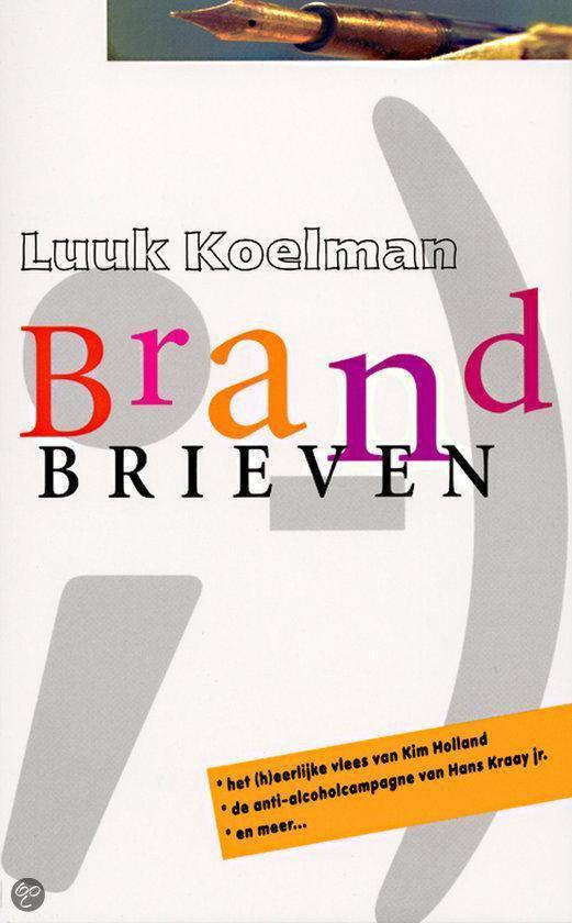 Brandbrieven - Luuk Koelman  