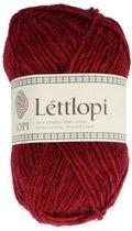 IJslandse Breiwol Lettlopi - Cherry red - kirsuberrauður