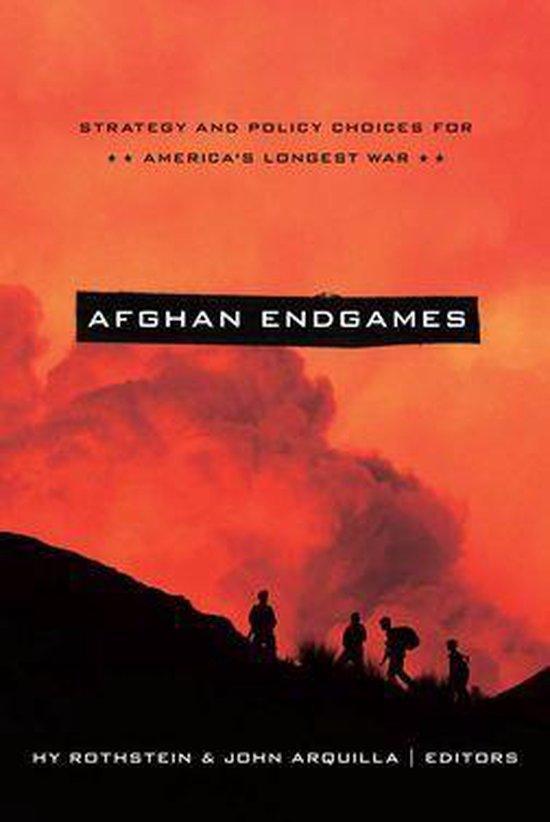 Boek cover Afghan Endgames van Rothstein, Hy