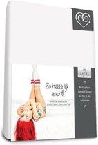 Badstof stretch hoeslaken  Wit - 140 x 220 cm - Wit