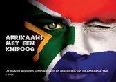 Boek cover Afrikaans met een knipoog van Peter en Gaby Beekmans