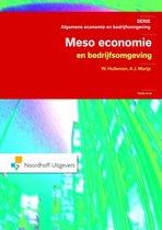 Algemene economie en bedrijfsomgeving  -   Meso-Economie en bedrijfsomgeving