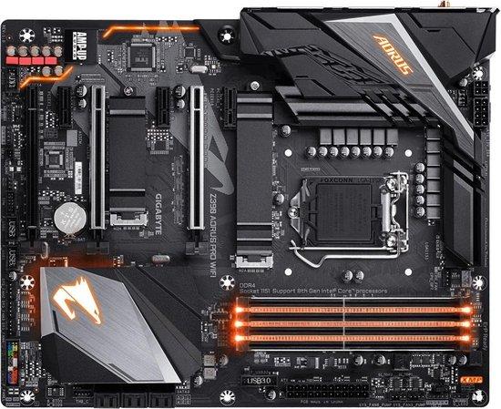 Gigabyte Z390 AORUS PRO WIFI moederbord LGA 1151 (Socket H4) ATX Intel Z390