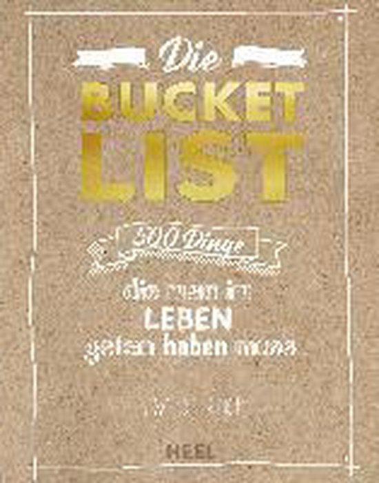 Omslag van Die Bucket List