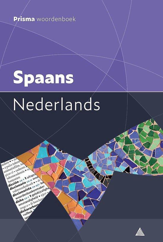 Boek cover Prisma woordenboek Spaans-Nederlands van S.A. Vosters (Paperback)