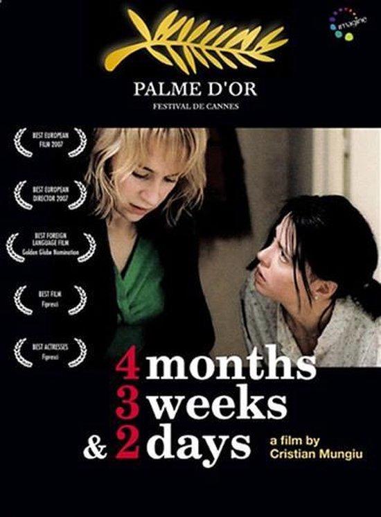 Cover van de film '4 Months 3 Weeks & 2 Days'