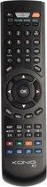 König KN-SMARTPRO40 afstandsbediening IR Draadloos DTC, DTT, DTV, DVD/Blu-ray, DVDR-HDD, DVR, PC, TV, TV set-topbox Drukknopen