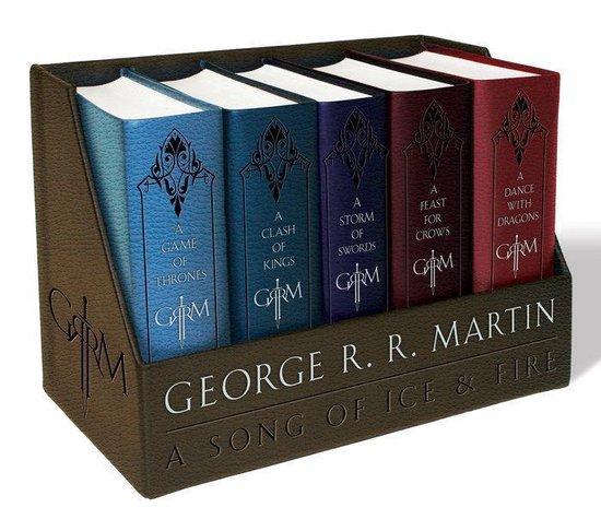 Afbeelding van Game of Thrones - Leren boeken boxset